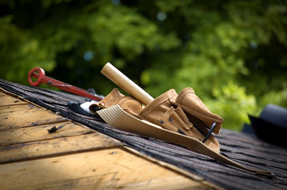 couverture de toiture d'une maison
