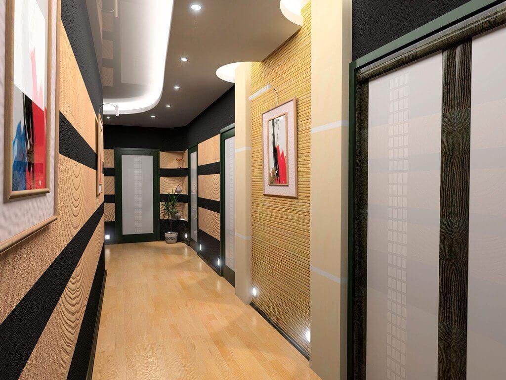 Hall D Entrée Moderne spécificités pour la rénovation et la décoration moderne du