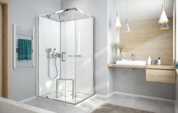 différents types de douches
