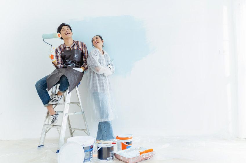 changer la peinture de sa maison